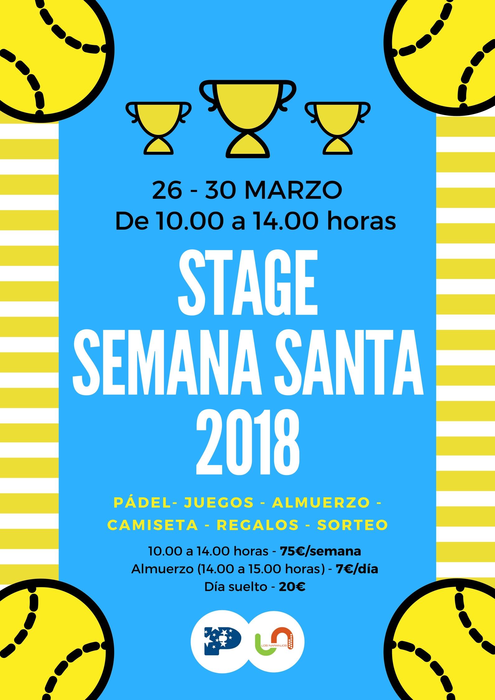 Stage Semana Santa 2018 Los Naranjos