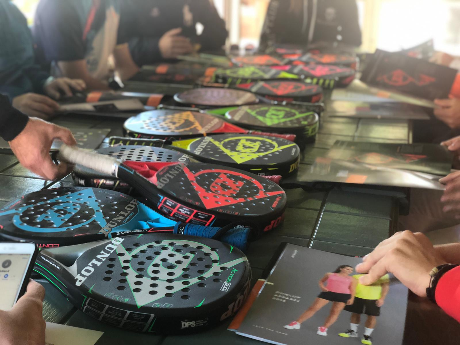 Dunlop Padel y Prodigy Padel Academy