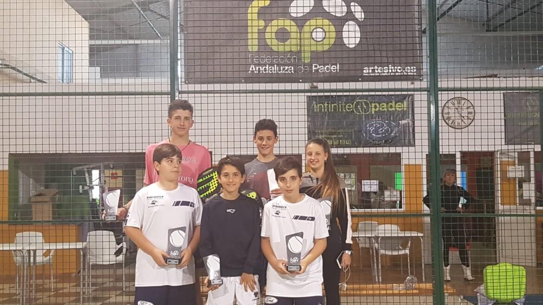Resultados Torneo Menores 1400 en Huelva